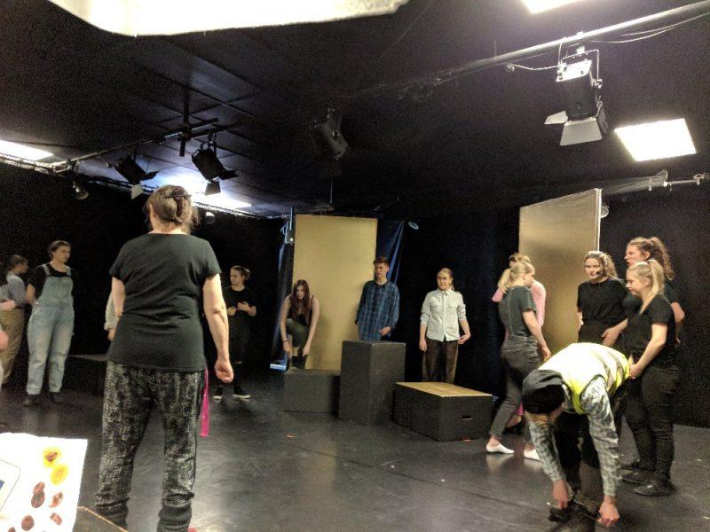 6:e april – Det nya roliga projektet